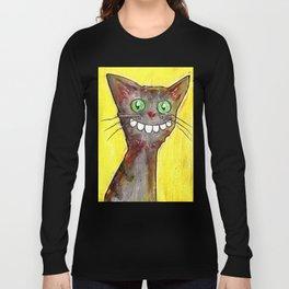 Derp Cat Long Sleeve T-shirt
