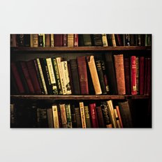 Book Shelf Canvas Print