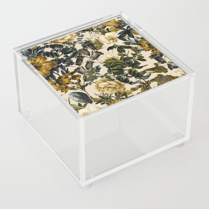 Warm Winter Garden Acrylic Box