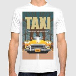 Taxi TV Series Poster T-shirt