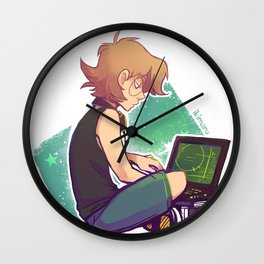 Tech Geek Wall Clock