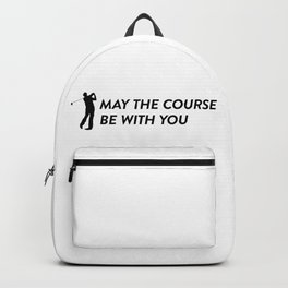 May the course be with you Backpack