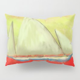 Abstract-ship Pillow Sham