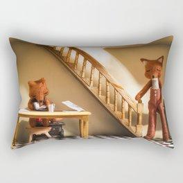 """Domingo por la Mañana"" Rectangular Pillow"