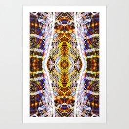 Light Dance Kaleidoscope Edit 2 Art Print