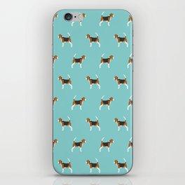 Beagle Design - beagle pillow beagle phone case beagle home decor iPhone Skin