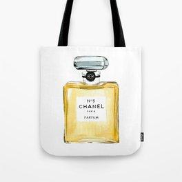 Yellow Perfume Tote Bag