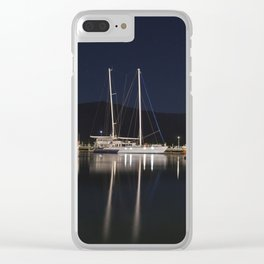 Marina at Night Clear iPhone Case