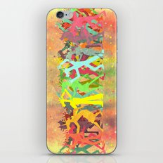 Conga Line Unicorns iPhone & iPod Skin