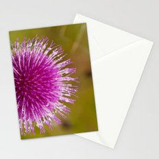 Thistle flower 6389 Stationery Cards