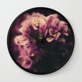 Kissed by Summer Wall Clock