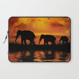 Elephant Safari Laptop Sleeve