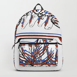 Anatomical head 3D by Bedelgeuse Backpack