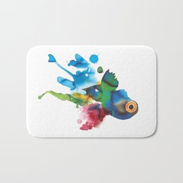 COLORFUL FISH 2 Bath Mat