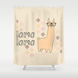 llama llama Shower Curtain