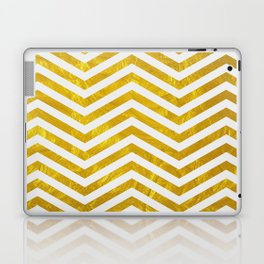 Golden obsession Laptop & iPad Skin