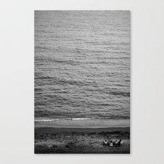 io sono il mare Canvas Print