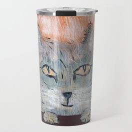 Raggedy Cat Travel Mug
