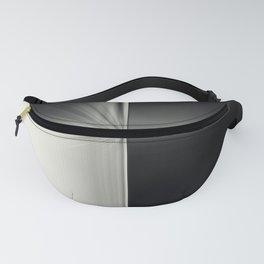 Modern Black White Block Zoom Design Fanny Pack