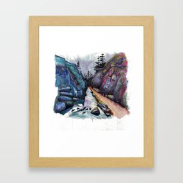 Eleven Mile Canyon, Colorado Framed Art Print