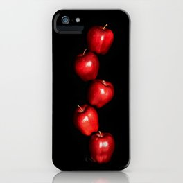 5 Apples - Meera Mary Thomas Design iPhone Case