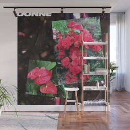 Donne Flowers Wall Mural