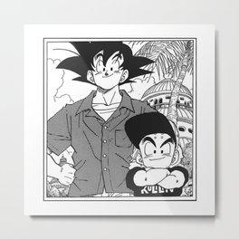 DBZ - Manga 8 Metal Print