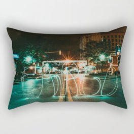 Downtown Fargo Rectangular Pillow