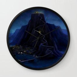 Deep in the Caribbean - Mêlée Island Wall Clock