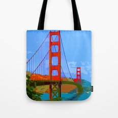 Golden Gate Bridge 009 Tote Bag