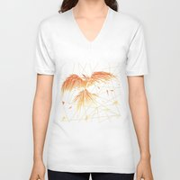 phoenix V-neck T-shirts featuring Phoenix by ARCHIGRAF