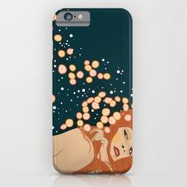 Klimt Water Snakes iPhone Case