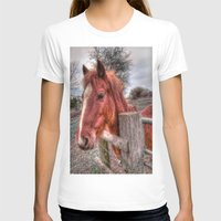 pony T-shirts featuring Pony  by Darren Wilkes Fine Art Images