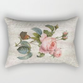 Roses Nostalgie Rectangular Pillow