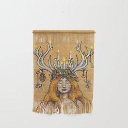 Imbolc/Candlemas/Brigid Wall Hanging
