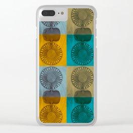 Fan-tastic Heatwave Clear iPhone Case