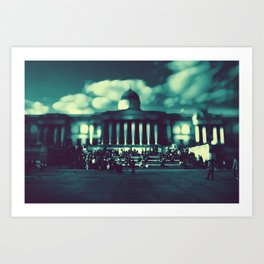 'At The Museum' by TDL Art Print