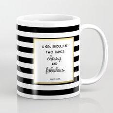 Coco Gold Classy & Fabulous Gold Print Mug