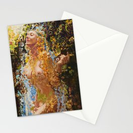 Psychotropic Veil Stationery Cards