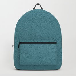 Abstract solid color turquoise wall texture Backpack