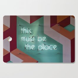 this must be the place Cutting Board