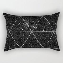 Spacial Geometrica #3 Rectangular Pillow
