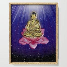 GOLDEN BUDDHA Serving Tray