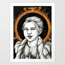 Ladies of Dragon Age: Dagna Art Print