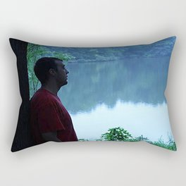 Soul Searching Reflections Rectangular Pillow