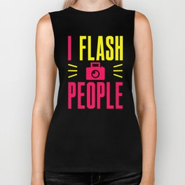 I Flash People Biker Tank
