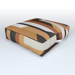 Modern and geometric art XIV Outdoor Floor Cushion