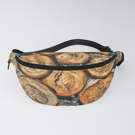 Logs for the Fireplace Fanny Pack