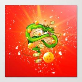 Japanese Shenron Red Variant Canvas Print