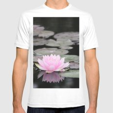 The Lily Pad Mens Fitted Tee White MEDIUM